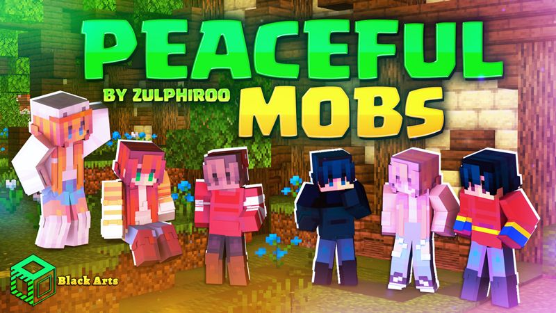 Peaceful Mobs on the Minecraft Marketplace by Black Arts Studio