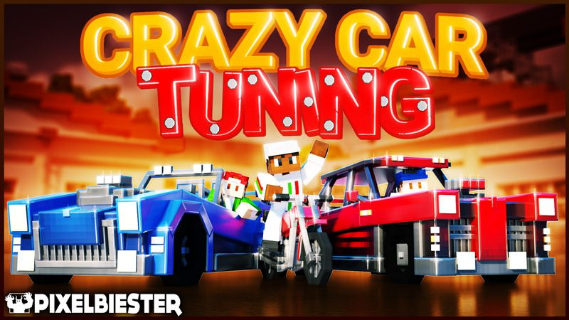 Crazy Car Tuning on the Minecraft Marketplace by Pixelbiester