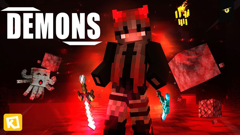 Demons on the Minecraft Marketplace by Kuboc Studios