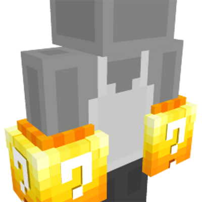 Lucky Block Gloves on the Minecraft Marketplace by GoE-Craft