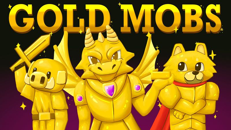Gold Mobs on the Minecraft Marketplace by BBB Studios