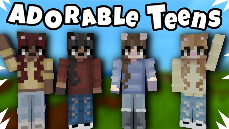 Adorable Teens on the Minecraft Marketplace by Pixelationz Studios