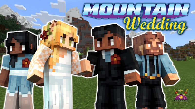 Mountain Wedding on the Minecraft Marketplace by Cleverlike