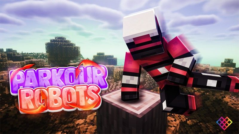 Parkour Robots on the Minecraft Marketplace by Rainbow Theory