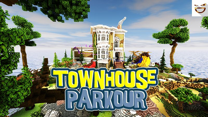 Townhouse Parkour on the Minecraft Marketplace by Giggle Block Studios