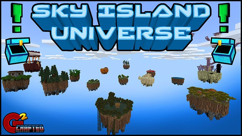 Sky Island Universe on the Minecraft Marketplace by G2Crafted