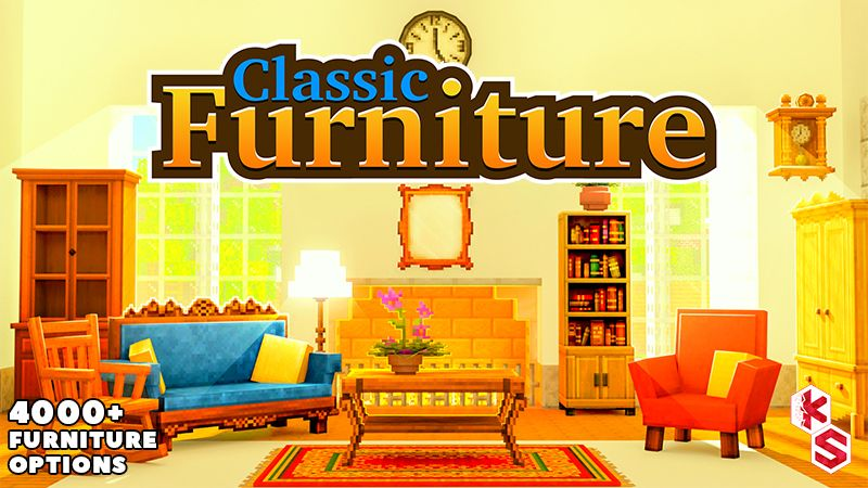 Classic Furniture on the Minecraft Marketplace by Kreatik Studios