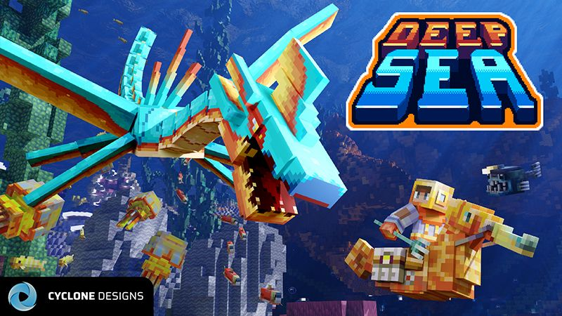 Deep Sea MashUp on the Minecraft Marketplace by Cyclone