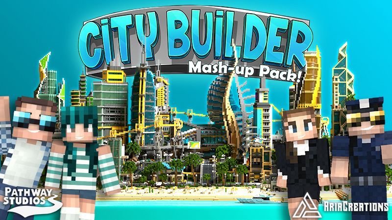 City Builder Mashup on the Minecraft Marketplace by Pathway Studios