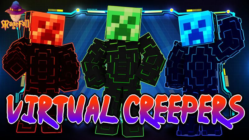 Virtual Creepers on the Minecraft Marketplace by Magefall
