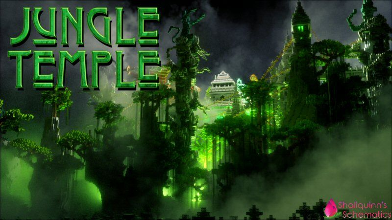 Jungle Temple on the Minecraft Marketplace by Shaliquinn's Schematics