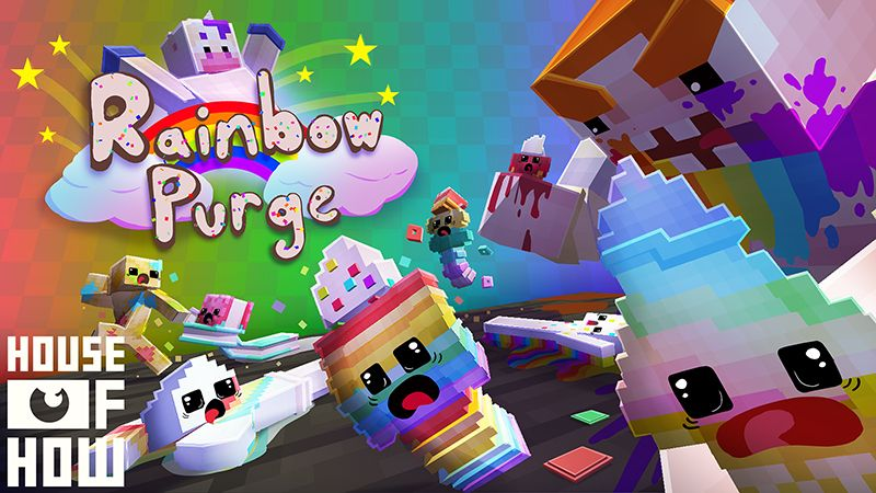 Rainbow Purge on the Minecraft Marketplace by House of How