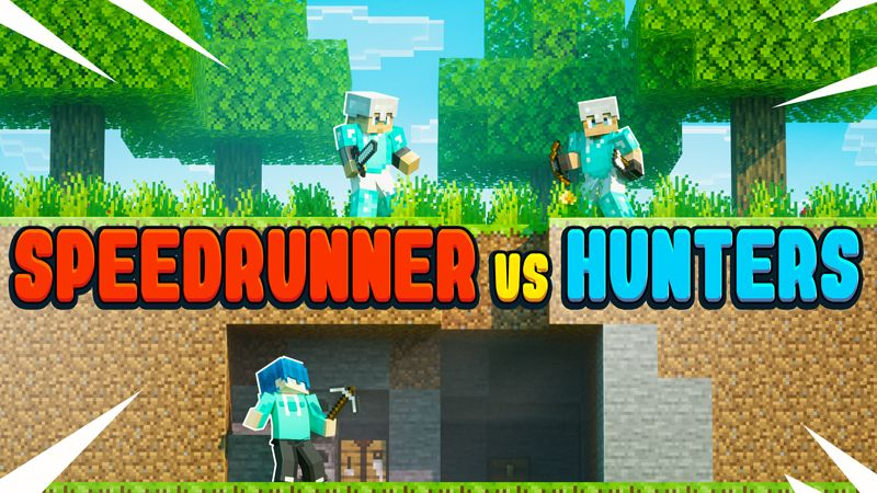 SPEEDRUNNER VS HUNTERS on the Minecraft Marketplace by Chunklabs