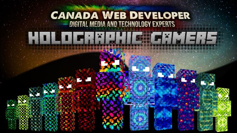 Holographic Gamers on the Minecraft Marketplace by CanadaWebDeveloper