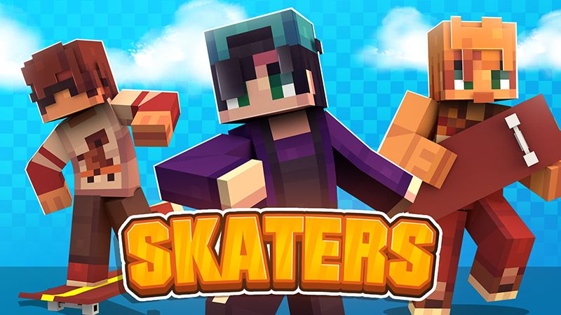 Skaters on the Minecraft Marketplace by Mine-North