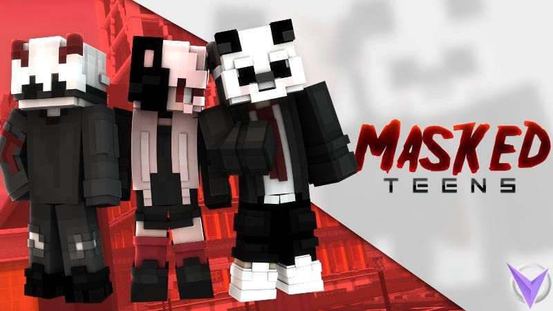 Masked Teens on the Minecraft Marketplace by Team Visionary