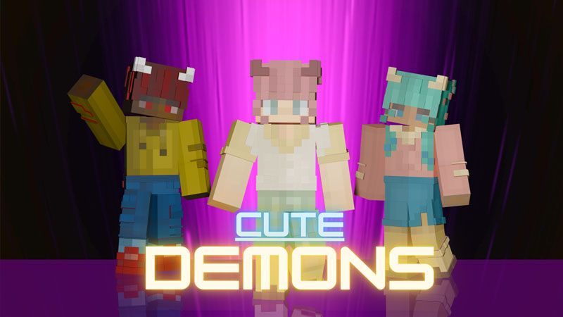 Cute Demons on the Minecraft Marketplace by Blockception