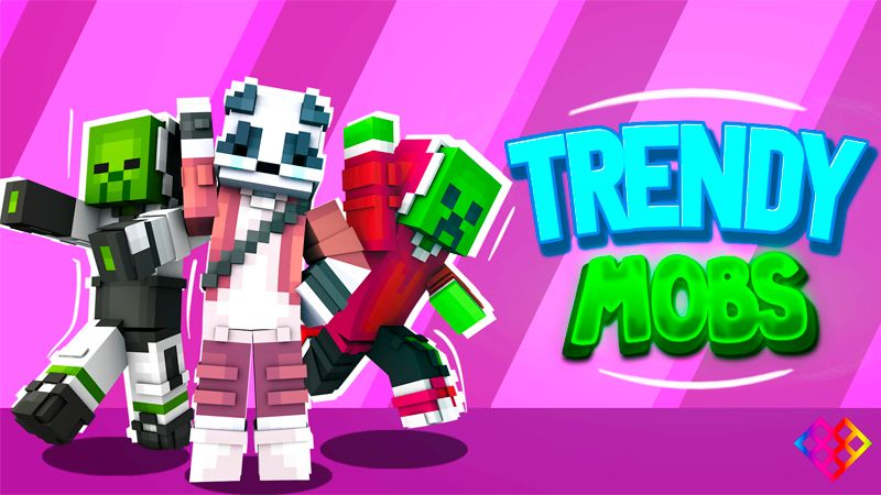 Trendy Mobs on the Minecraft Marketplace by Rainbow Theory