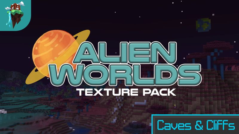 Alien Worlds Texture Pack on the Minecraft Marketplace by Polymaps