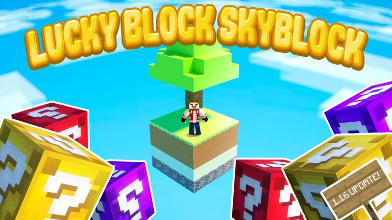 LUCKY BLOCK SKYBLOCK  on the Minecraft Marketplace by Chunklabs