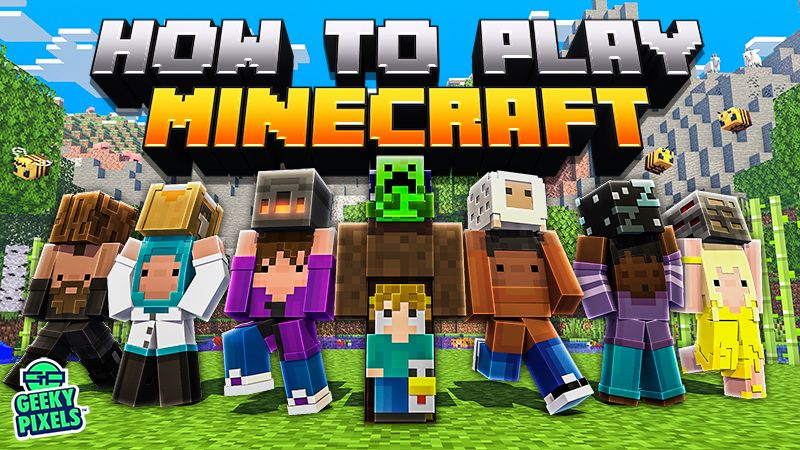How to Play Minecraft on the Minecraft Marketplace by Geeky Pixels
