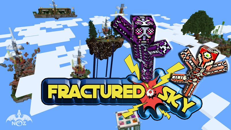 Fractured Sky on the Minecraft Marketplace by Dragnoz