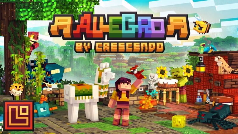 Allegro on the Minecraft Marketplace by Pixel Squared
