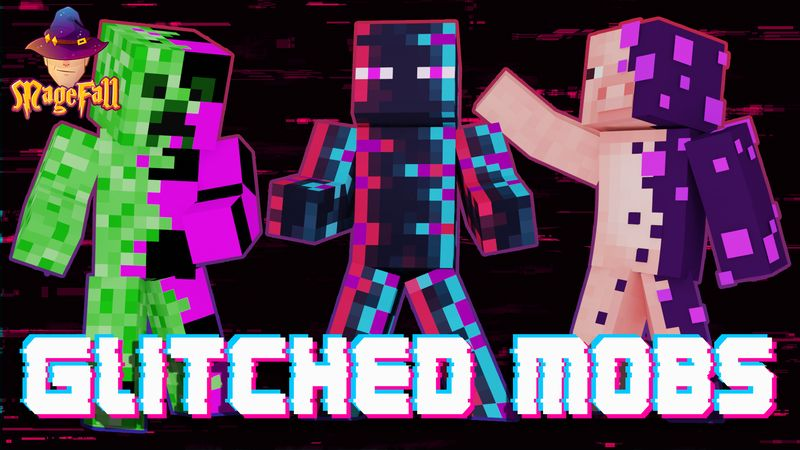 Glitched Mobs on the Minecraft Marketplace by Magefall