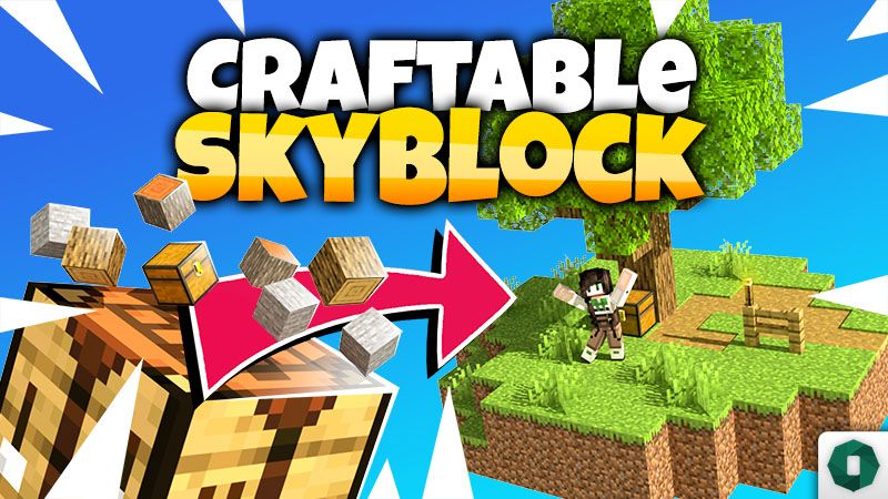 Craftable Skyblock on the Minecraft Marketplace by Octovon