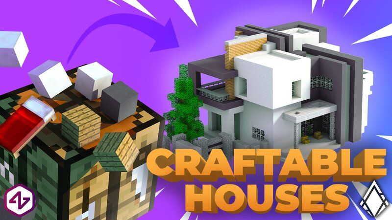 Craftable Houses on the Minecraft Marketplace by 4KS Studios
