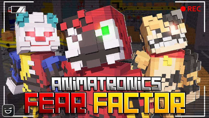 Animatronics Fear Factor on the Minecraft Marketplace by Giggle Block Studios