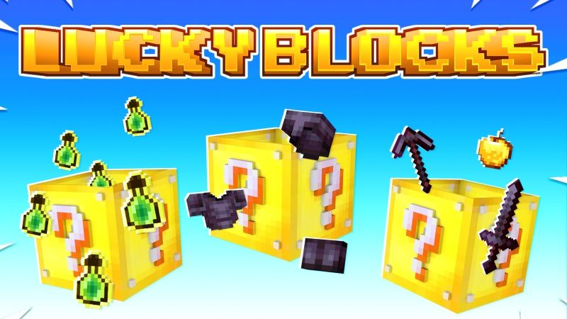 Lucky Blocks on the Minecraft Marketplace by Fall Studios