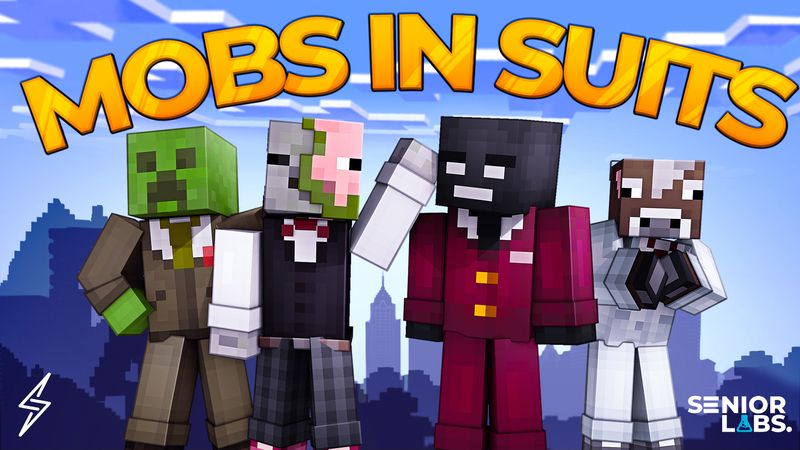 Mobs In Suits on the Minecraft Marketplace by Senior Studios