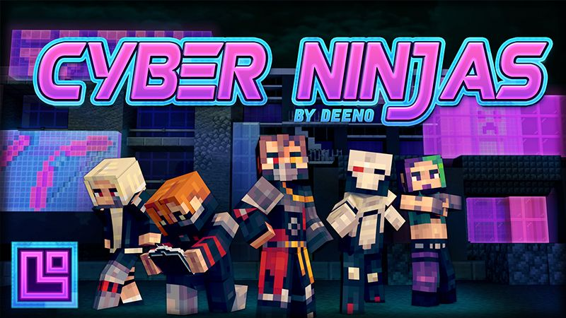 Cyber Ninjas on the Minecraft Marketplace by Pixel Squared