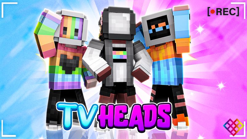 TV Heads on the Minecraft Marketplace by Rainbow Theory