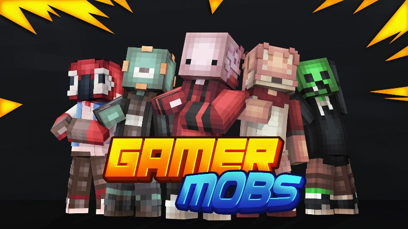 Gamer Mobs on the Minecraft Marketplace by Cypress Games