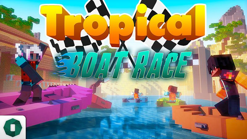 Tropical Boat Race on the Minecraft Marketplace by Octovon