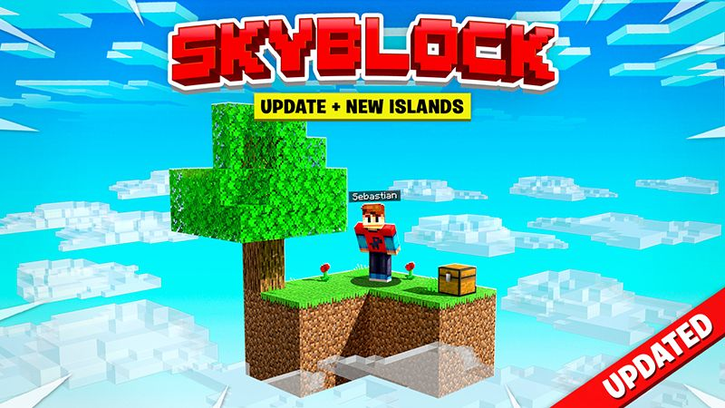 Skyblock on the Minecraft Marketplace by Razzleberries