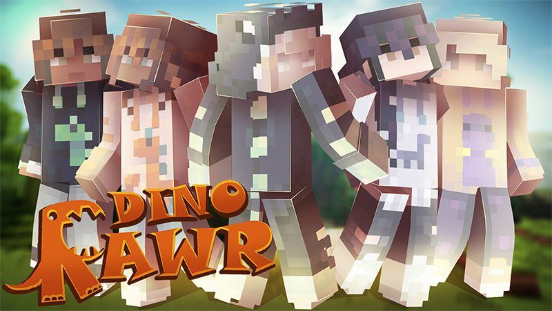 Dino Rawr on the Minecraft Marketplace by Hourglass Studios