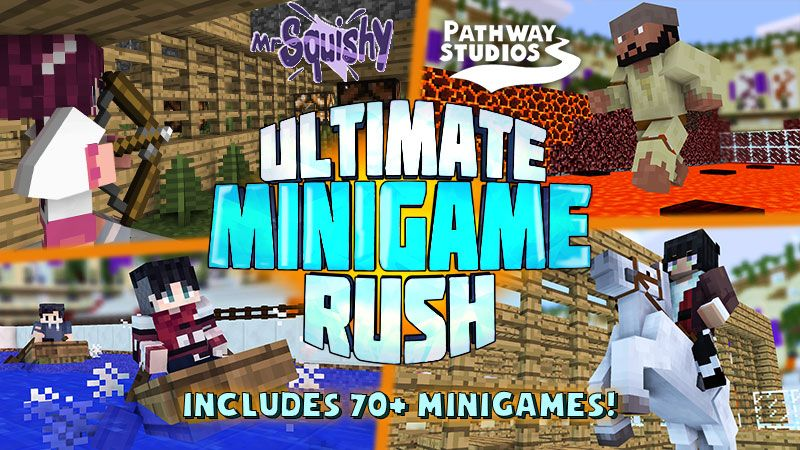 Ultimate Minigame Rush on the Minecraft Marketplace by Pathway Studios