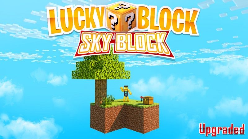 Lucky Block Skyblock on the Minecraft Marketplace by BBB Studios