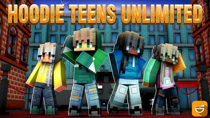 Hoodie Teens Unlimited on the Minecraft Marketplace by Giggle Block Studios