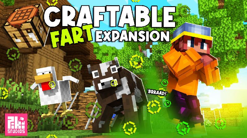 Craftable Fart Expansion on the Minecraft Marketplace by Piki Studios