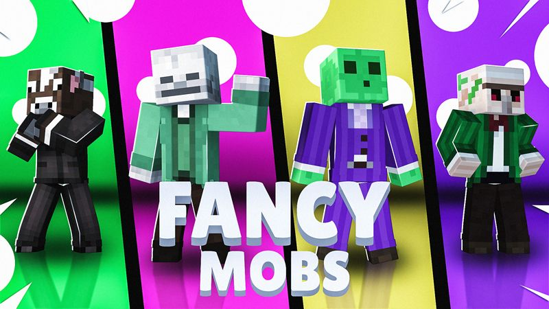Fancy Mobs on the Minecraft Marketplace by Impulse