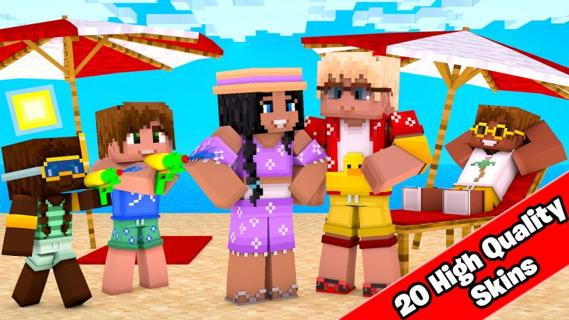 BEACH OUTFITS on the Minecraft Marketplace by Doctor Benx