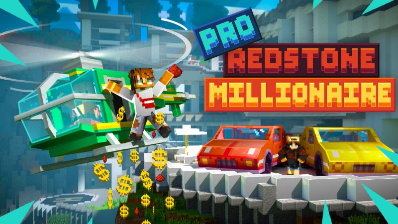Pro Redstone Millionaire on the Minecraft Marketplace by Sapphire Studios
