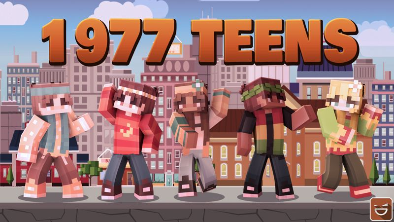 1977 Teens on the Minecraft Marketplace by Giggle Block Studios
