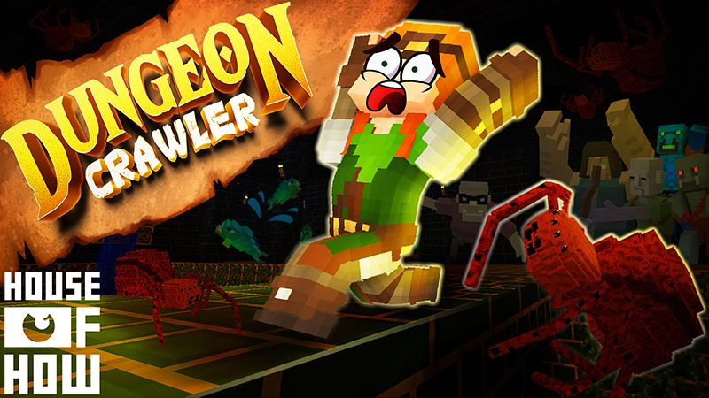 Dungeon Crawler on the Minecraft Marketplace by House of How