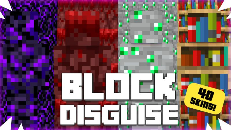 Block Disguise on the Minecraft Marketplace by Pixelationz Studios