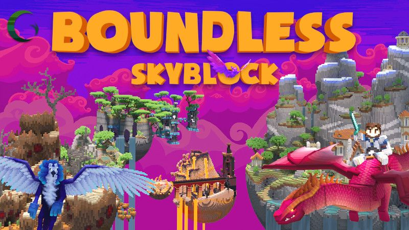 Boundless Skyblock on the Minecraft Marketplace by Cynosia